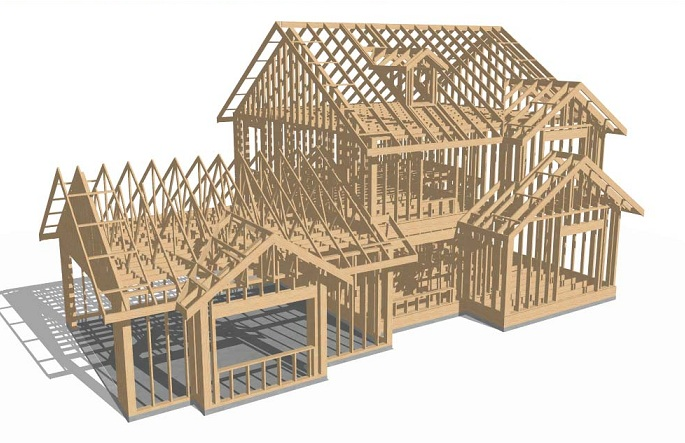 3 d design for What is a frame home